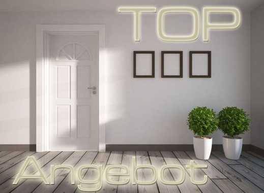 Sehr große helle 5 Zimmer-Erdgeschoss-Wohnung mit zwei Bädern, Garten, Terrasse und Kfz.-Plätzen!
