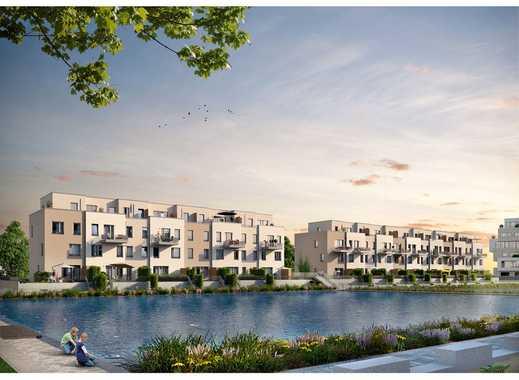 Genießen Sie Ihre neue 5-Zimmer-Wohnung mit Terrasse, Garten und Wasserblick!