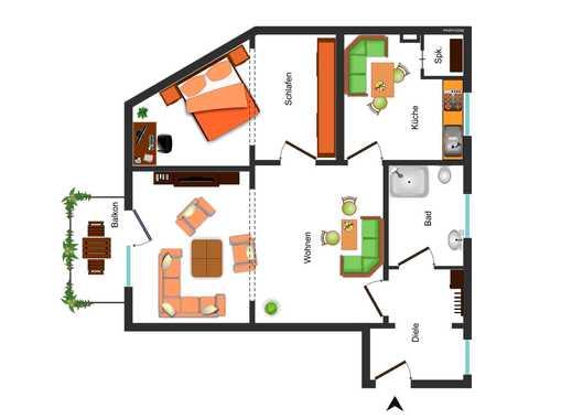 eigentumswohnung frankenberg eder immobilienscout24. Black Bedroom Furniture Sets. Home Design Ideas