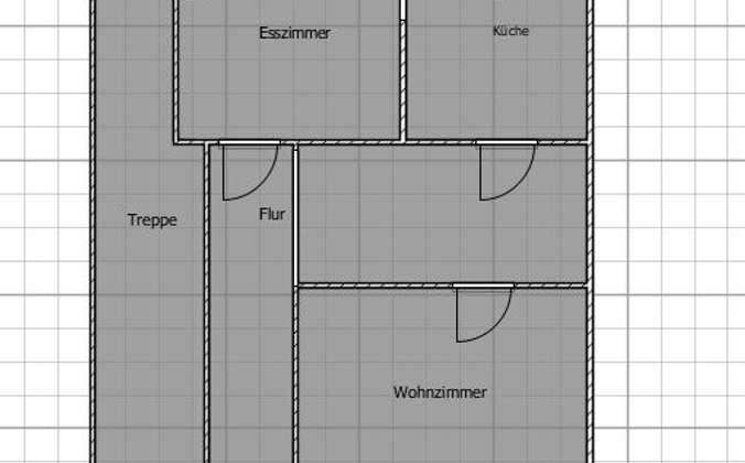 Grundriss-Skizzierung EG