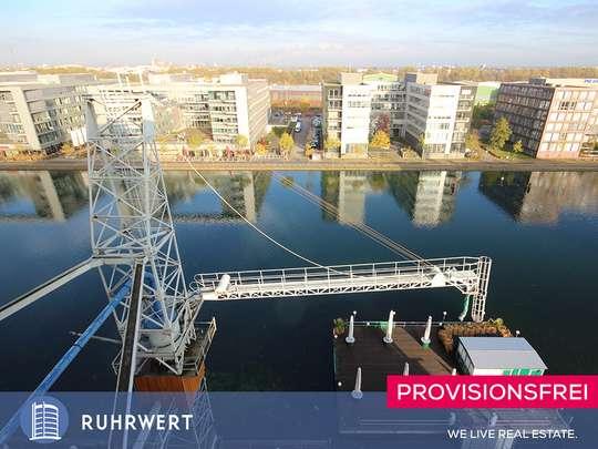 Ausblick von Toller Blick aufs Hafenbecken von Ihrem neuen Loft-Büro!!