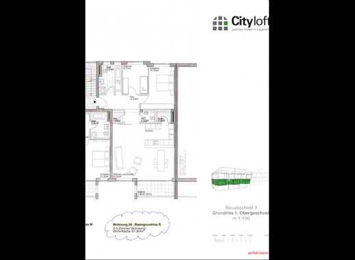 Schöne 3,5-Zimmer-Wohnung mit Balkon und Einbauküche in Laupheim