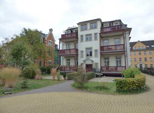 Schöne, hochwertige 3RWE in Mietvilla, Elbnähe, 2 Balkone, Garten + Terrasse