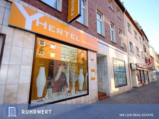 Hausansicht von Frisch renoviertes Ladenlokal in der Oberhausener Einkaufsstraße!
