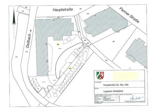 Langenberg (Velbert) hist. Ortsmitte am Deilbach  - PKW-Stellpl. (Innenhof) zu vermieten