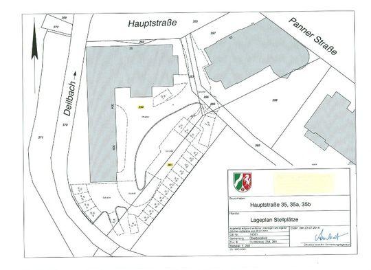 Plan Stellplätze Hauptstr. 35
