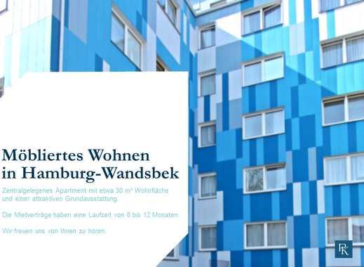 Möblierte Zimmerappartments in Hamburg - Wandsbek!