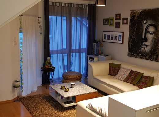 Gepflegte 2-Zimmer-DG-Wohnung mit Balkon in Schriesheim - Altenbach