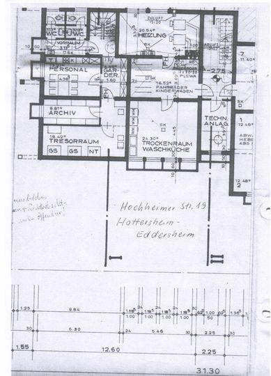 Grundriss UG H19 Eddersheim