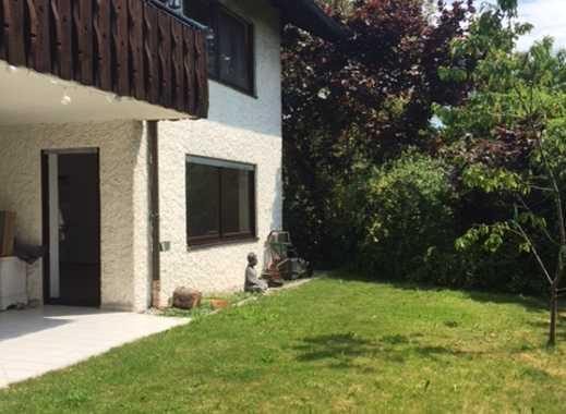 4 - Zimmer-Erdgeschoß Wohnung mit Terrasse und Garten in Ulm-Ermingen