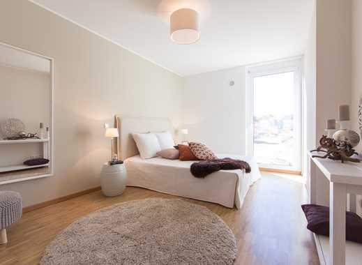 Großzügige 21 m² Dachterrasse! Modernes 3-Zimmer-Penthouse mit ca. 43 m² Wohn-/Ess-/Kochbereich