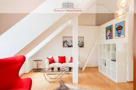 Möblierte, helle 2-Zimmer-Wohnung. Einbauküche inklusive.  in Bogenhausen (München)