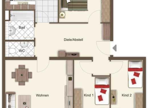 Zentralgelegene 4-Zi.-Wohnung in einer familienfreundlichen Anlagen mit TG-Stellplatz