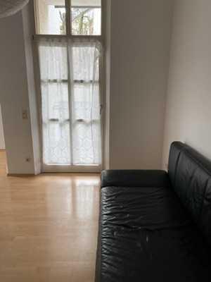 Gepflegt 1 Zi-Wohnung, teilmöbliert, Citynähe, Nähe Hbf, gute Verkehrsanbindung  in Gartenstadt/Wendelhöfen (Bayreuth)