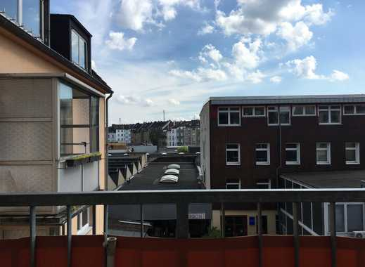 Gut geschnittene 3,5 Zimmer 3.OG Wohnung mit Süd-Balkon in D-Unterbilk