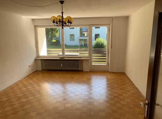 Stilvolle, gepflegte 2-Zimmer-Hochparterre-Wohnung mit Balkon in Seenähe in Tegernsee