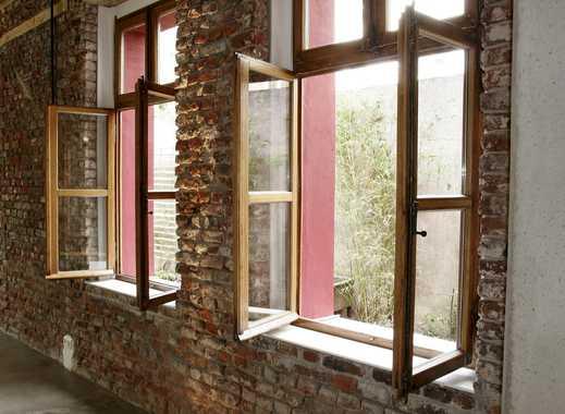 attraktive LOFT-Bürofläche mit kleinem Innenhof - Bambusstauden