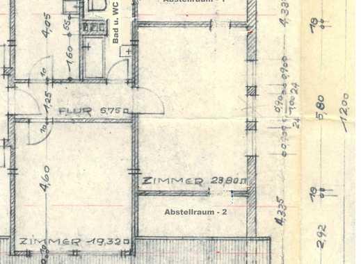 Vollständig renovierte 2-Zimmer-DG-Wohnung mit EBK in 65191 Wiesbaden