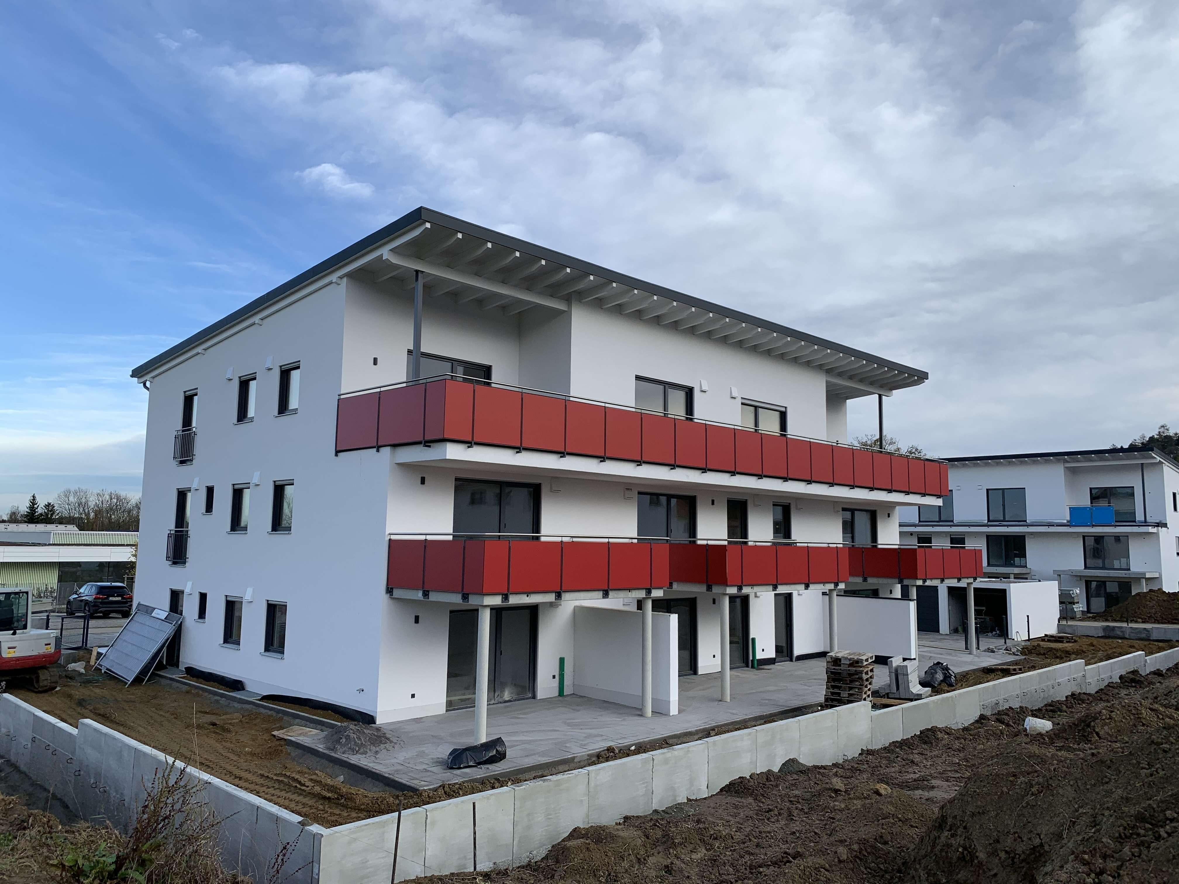 Erstbezug Tiefenbach - Mehrere sehr schöne, helle 3-Zimmer-Wohnungen im EG / OG oder Penthouse in Eching (Landshut)