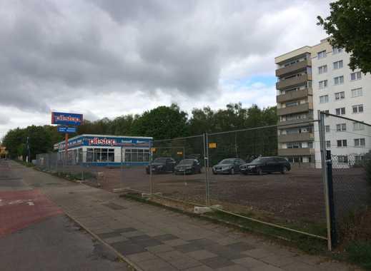 unbebautes Grundstück an einer der Hauptausfahrtstraßen von Marl