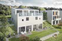 Moderne Doppelhaushälfte mitten in der
