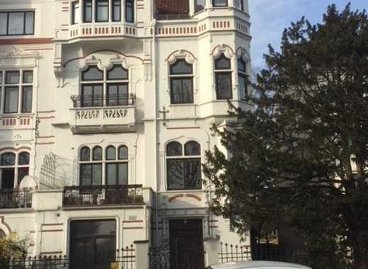 Osterdeich - Weserblick. 3-Zimmer-Wohnung in Bremer Haus