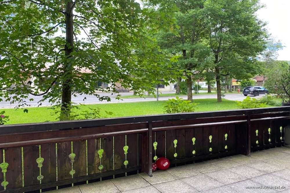 Miesbach - Wendelsteinstraße, gut geschnittene 3-Zimmer-Wohnung mit Terrass in