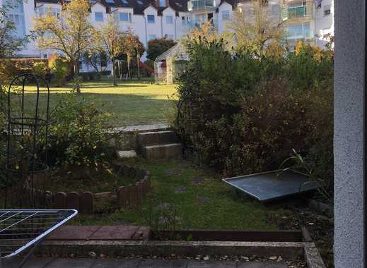 helle, großzügige 1-Zimmer Wohnung mit Garten in Diedorf