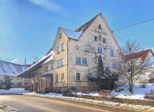 Wohnhaus in Geislingen-Türkheim mit 363 m² Wohn- & Gewerbefläche und ca. 300 m² ausbaufähiger Fläche
