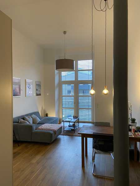 Ansprechende 3-Zimmer-Loft-Wohnung mit EBK und Terrasse in Forchheim in Forchheim (Forchheim)