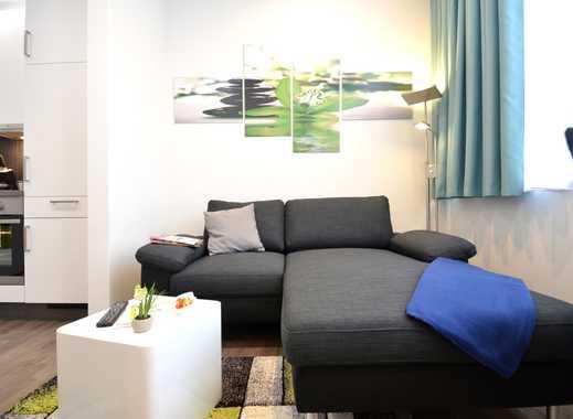 Möbliertes 1-Zimmer-Apartment auf Zeit für Geschäftsleute oder Studenten im Offenbacher Zentrum
