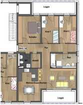 1 Obergeschoss - Wohnung D06