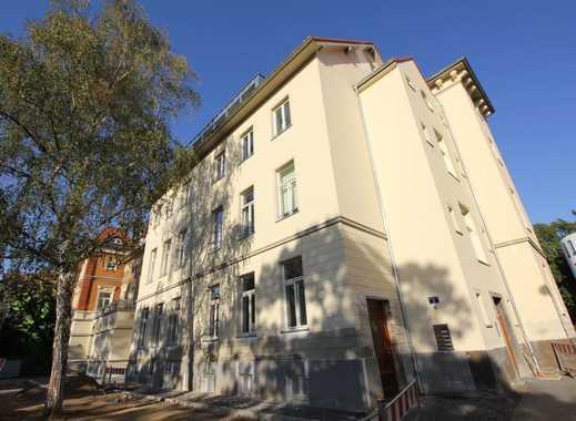 Erstbezug in Bonn-Rüngsdorf:4,5-Zimmer-Wohnung in saniertem Altbau, Aufzug, gr. Terrasse, priv. Park