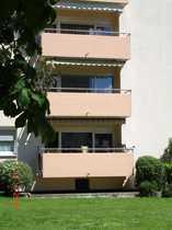 Helle, frisch renovierte 2-Zimmer-Wohnung mit Balkon und EBK in Heppenheim (Bergstraße)