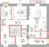 Schöne drei Zimmer Wohnung im
