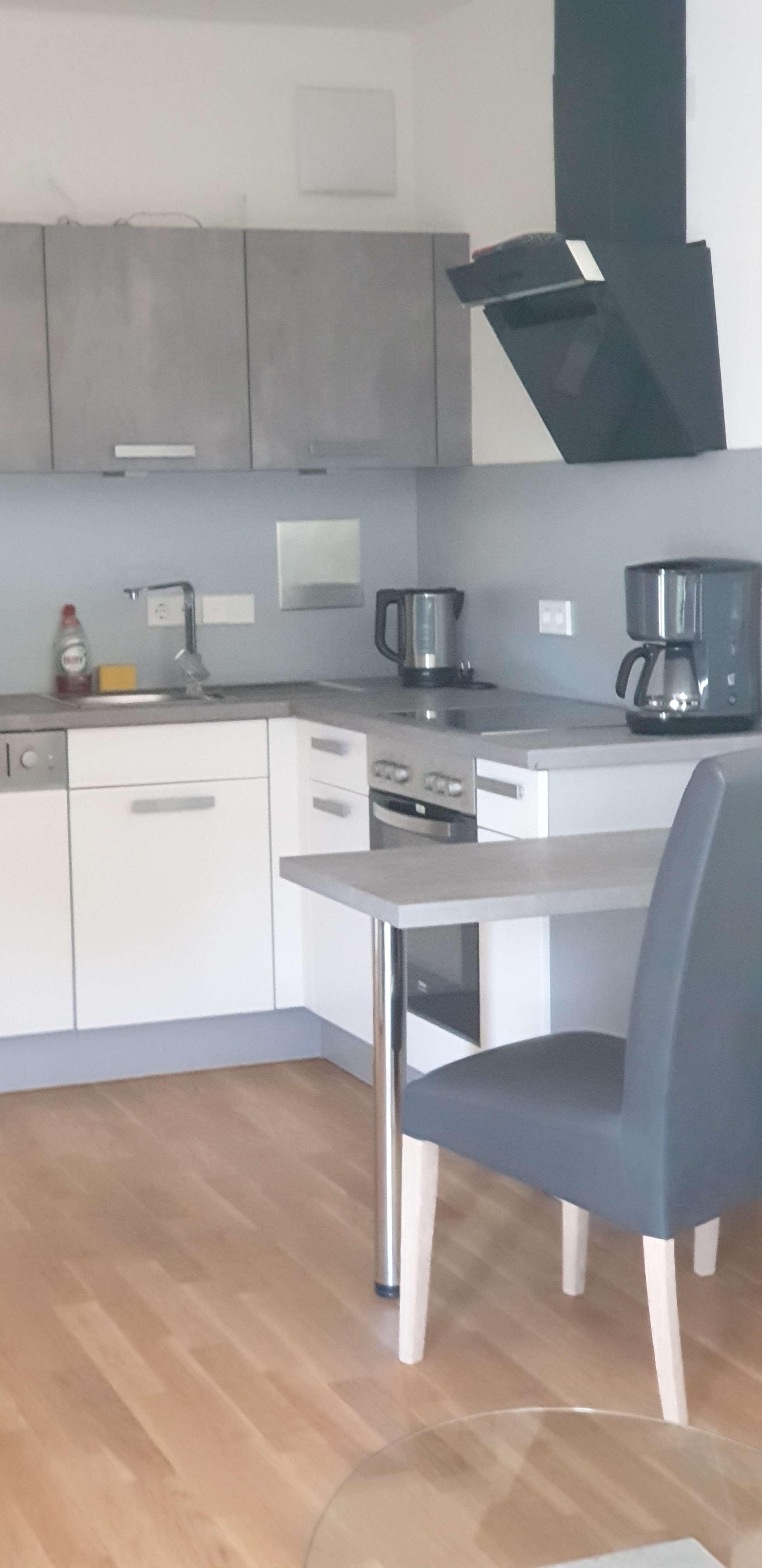 Erstbezug: attraktive komplett möblierte 2-Zimmer-Wohnung mit EBK und Balkon in Perlach, München in Perlach (München)