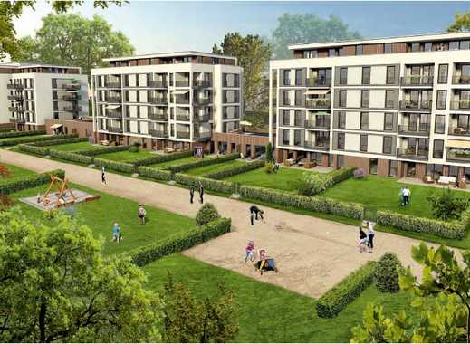 * moderne Wohnungen im Stadtquartier der Neustadt *