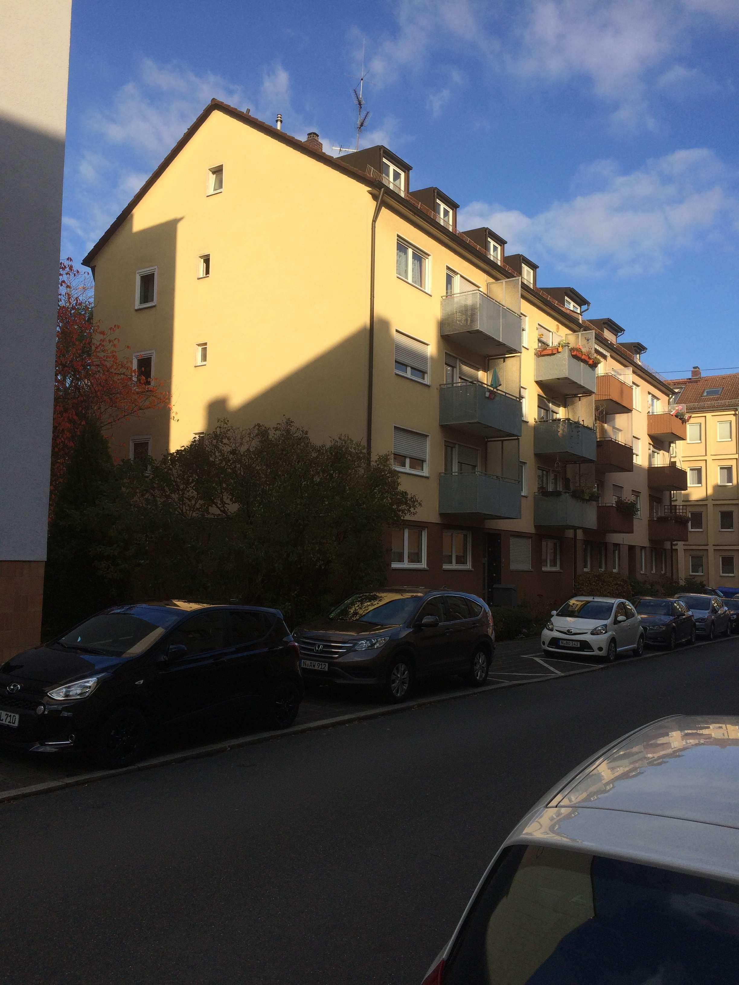 Vollständig renovierte 3-Zimmer-Wohnung mit Balkon und EBK in Nürnberg (Wöhrd) in Wöhrd