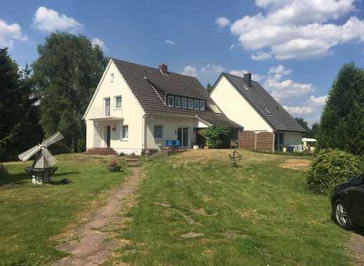 Stuhr-Moordeich, 2 Wohnhäuser (1-FH + 2-FH) +Nebengebäude, 9.900m² Grundstück am Klosterbach gelegen
