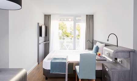 Möbliertes Apartment in City Lage mit Balkon - Inklusivmiete inkl. WLAN Flatrate in Himpfelshof (Nürnberg)