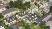 Schöner Neubau einer Doppelhaushälfte in