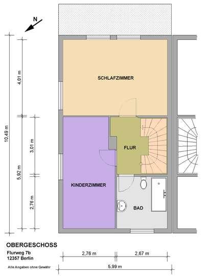 DHH mit 150m² Wohnfläche im Rudower Blumenviertel - Bild 26