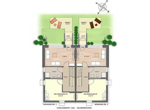 Garten mit Sonnenterrasse inklusive! Wunderschöne 4-Zi.-Maisonettewohnung auf ca. 136 m² Wohnfläche