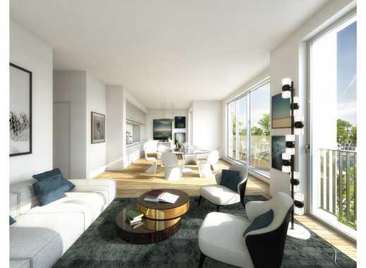 Moderne 3-Zimmer-Wohnung auf ca. 99 m² mit 2 Loggien direkt am Wasser