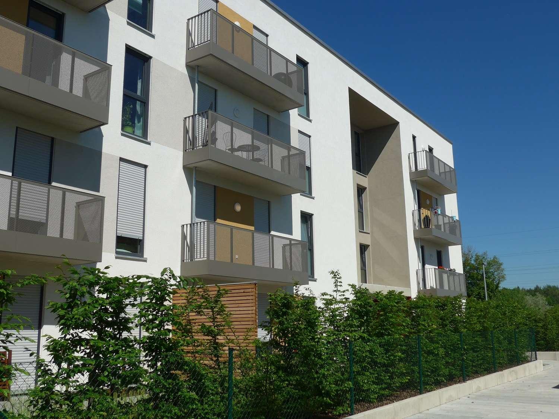Neubau: Helle 3-Zimmer-Wohnung mit Ostbalkon und Westloggia in Freising