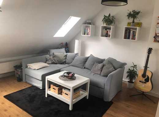 Bitte keine weiteren Anfragen! 2-Zimmer-Dachgeschosswohnung in Darmstadt-Nord