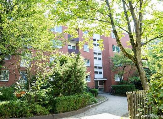 Wohnen in grüner Umgebung! Schöne 3 Zimmer-Wohnung in südlicher Wohnlage von Elmshorn