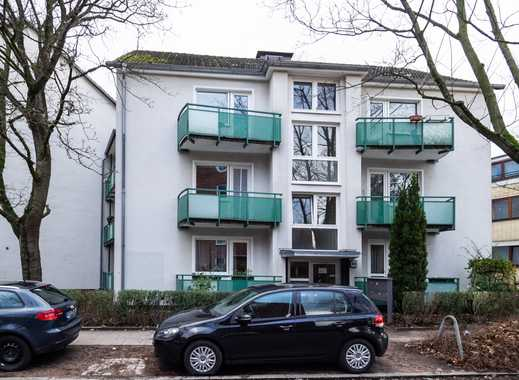 Barmbek-Süd - IM GEBOTSVERFAHREN: Renovierte 2-Zimmer-Wohnung mit Balkon