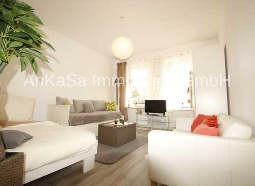 AnKaSa Immobilien GmbH*EBK*Balkon*komplett renoviert*2 Zi. Wohnung*Bad+Wanne*2.OG*Balkon ab Sommer*