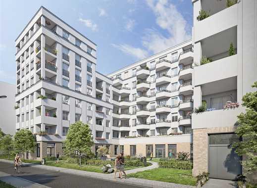 Lichtdurchflutete Neubauwohnung - Parkett - Fußbodenhzg. - Bezug Frühjahr 2019